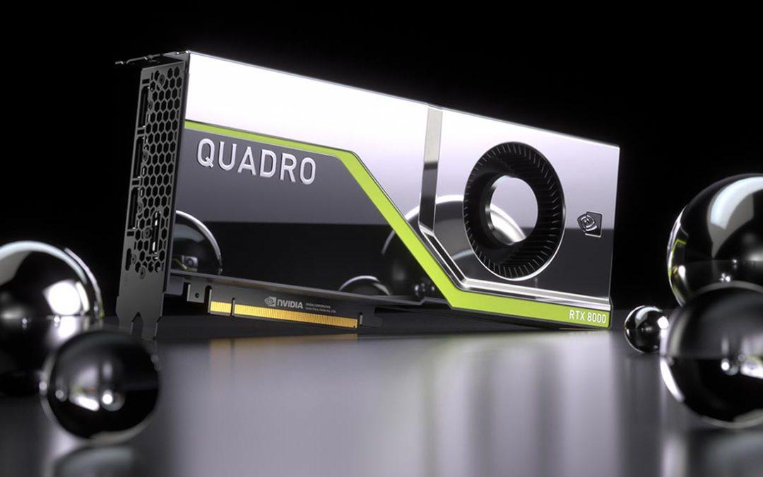 Nvidia Quadro RTX: Schneller schöne Bilder machen